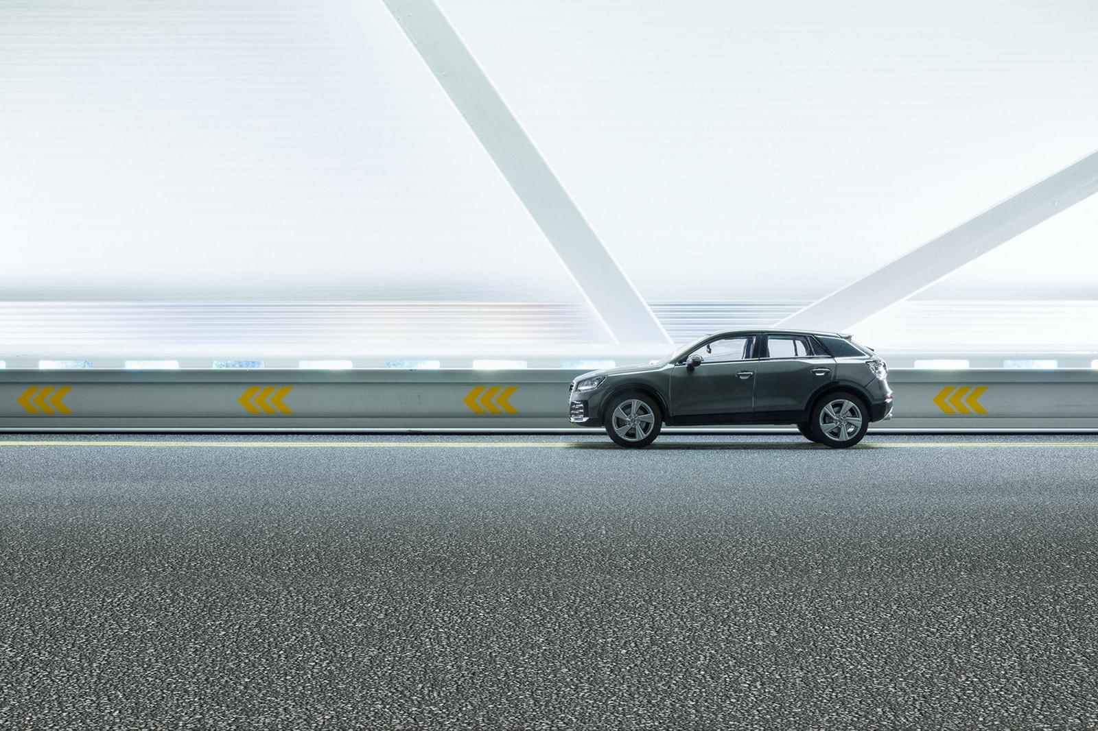 Audi Q2 Felix Hernandez 1/43 Scale Model Handcrafted Sets DIY