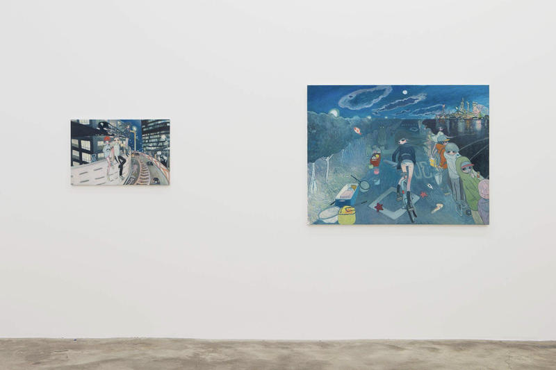 Aya Takano The Jelly Civilization Chronicle Galerie Perrotin Paris Exhibition