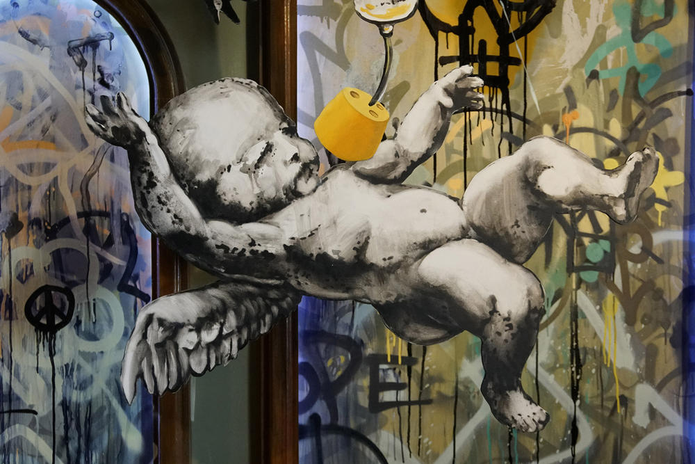 Banksy Opens Art-Filled Hotel Bethlehem Travel Graffiti