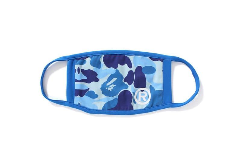 BAPE ABC Camo Mask Blue
