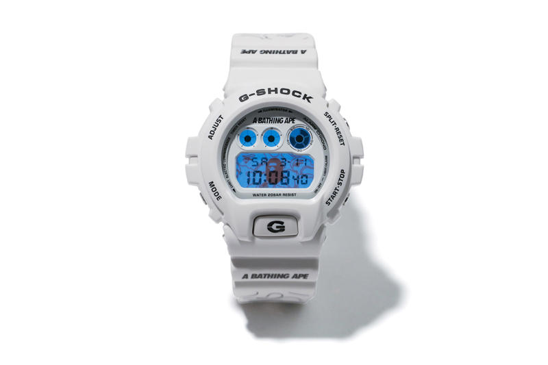 A Bathing Ape BAPE Casio G SHOCK DW 6900 2017