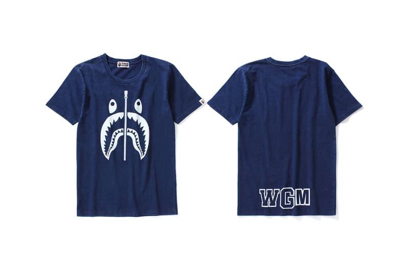 BAPE Indigo Collection Streetwear Clothing Apparel Wardrobe Essentials