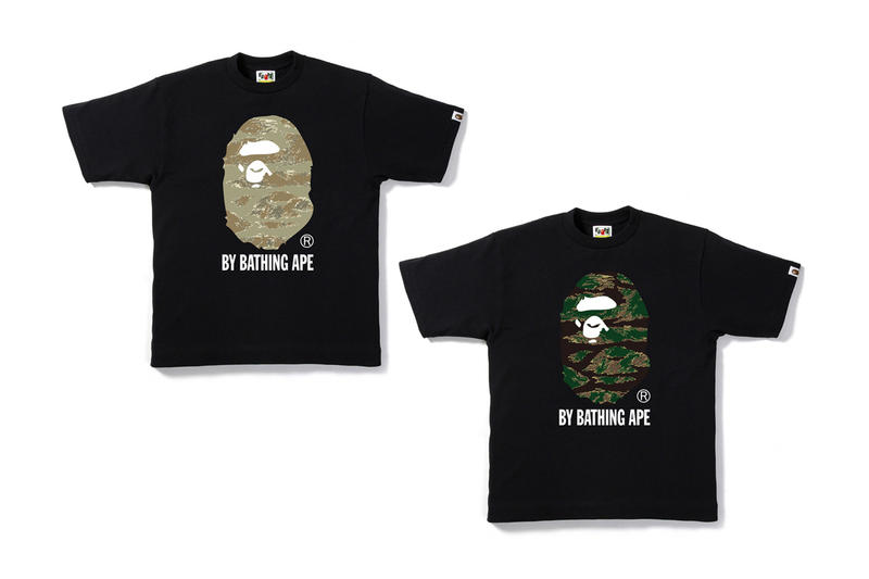BAPE Unveils Tiger Camouflage 2017 Spring/Summer Collection A Bathing Ape Japan Hoodies T-shirts Bags