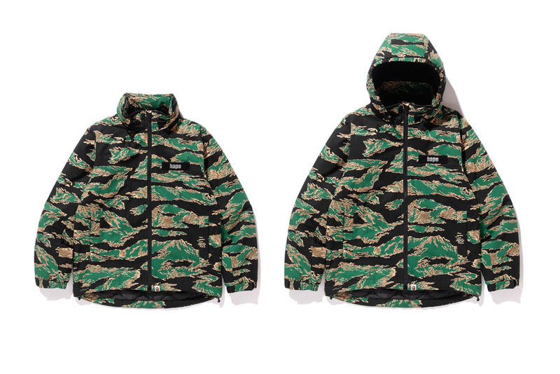 cae2247ee7 BAPE Unveils Tiger Camouflage 2017 Spring/Summer Collection A Bathing Ape  Japan Hoodies T-