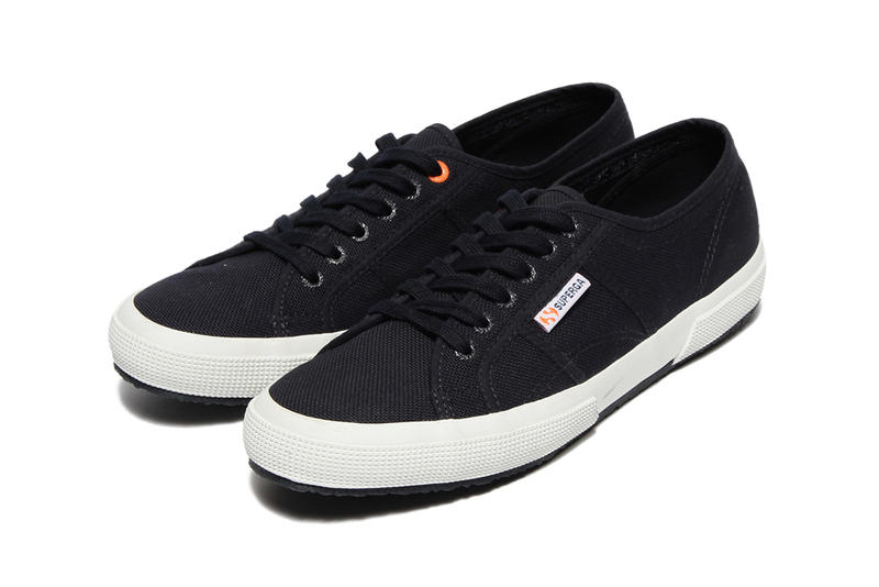 BEAMS LIGHTS x Superga Navy Sneakers