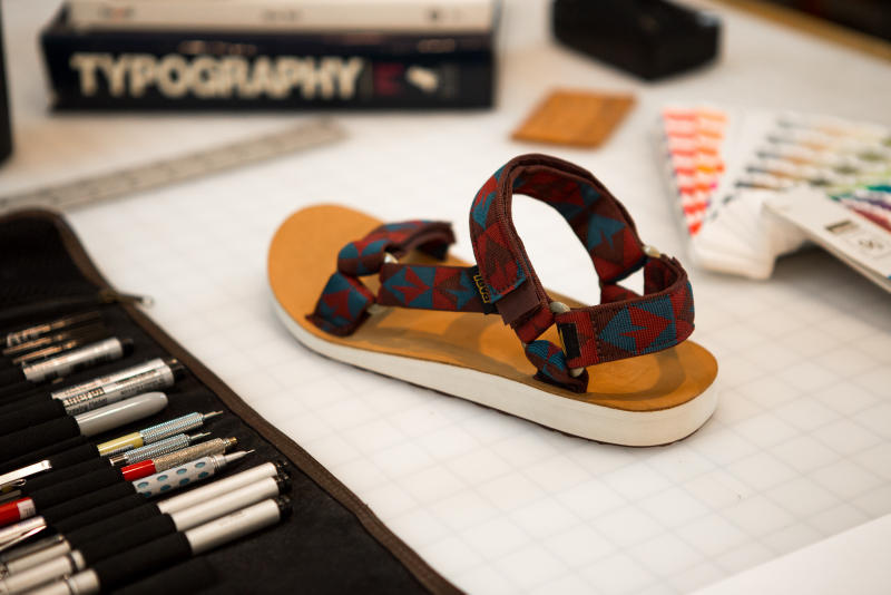 Teva x Benny Gold Artist Series Sandal
