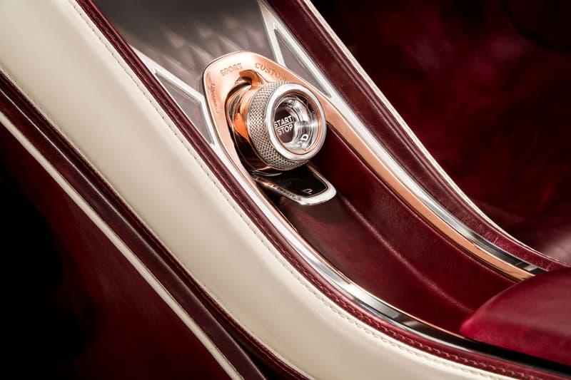 Bentley EXP 12 Speed 6e Geneva Motor Show Electric Cars