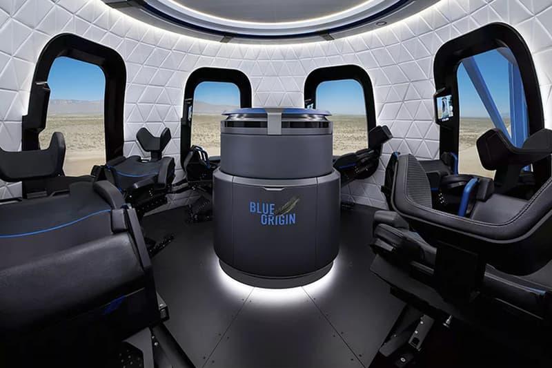 Jeff Bezos Blue Origin Tourist Space Ship Amazon CEO