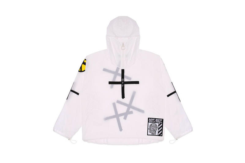Boys Noize OFF WHITE Mayday Collection