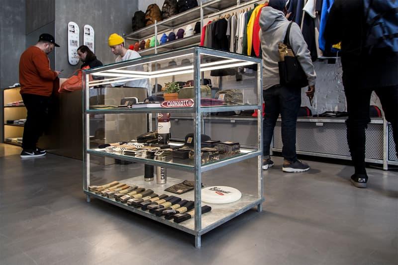Carhartt WIP Flagship Store NYC New York City SoHo