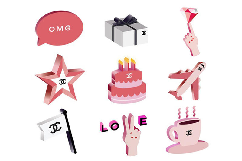 Chanel Emoji Set iPhone
