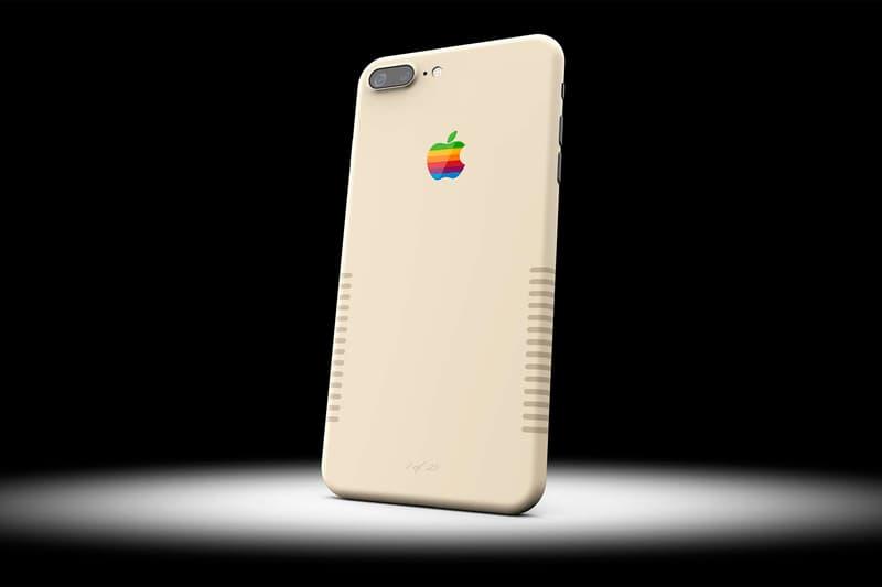 ColorWare iPhone 7 Retro Apple Mac Paint Job