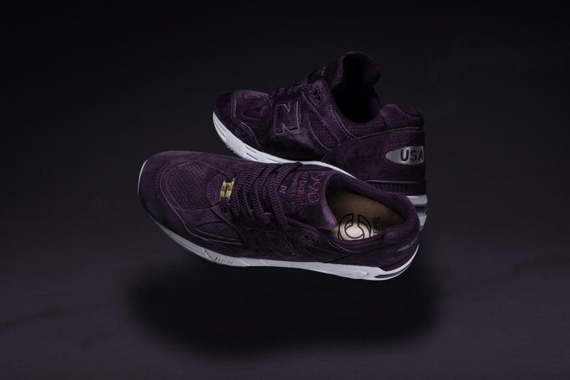 Concepts New Balance 990v2 Tyrian