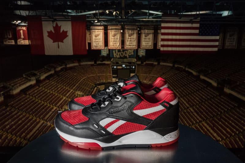 Detroit Red Wings Burn Rubber Reebok Bolton Black Red