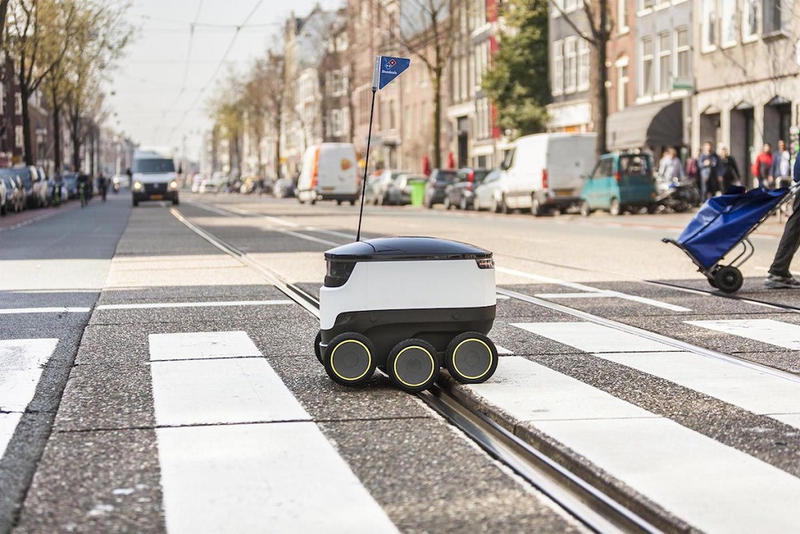 Dominos Pizza Starship Pizza Delivery Robot