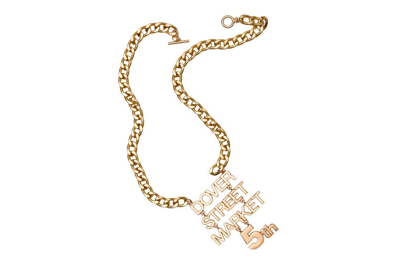 Dover Street Market Ginza 5th Anniversary Free Necklace
