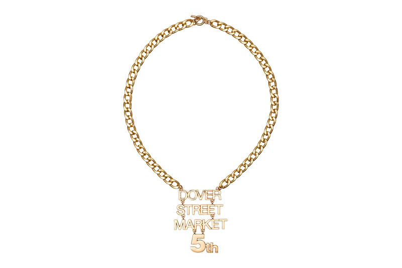 Dover Street Market Ginza 5th Anniversary Free Necklace 2