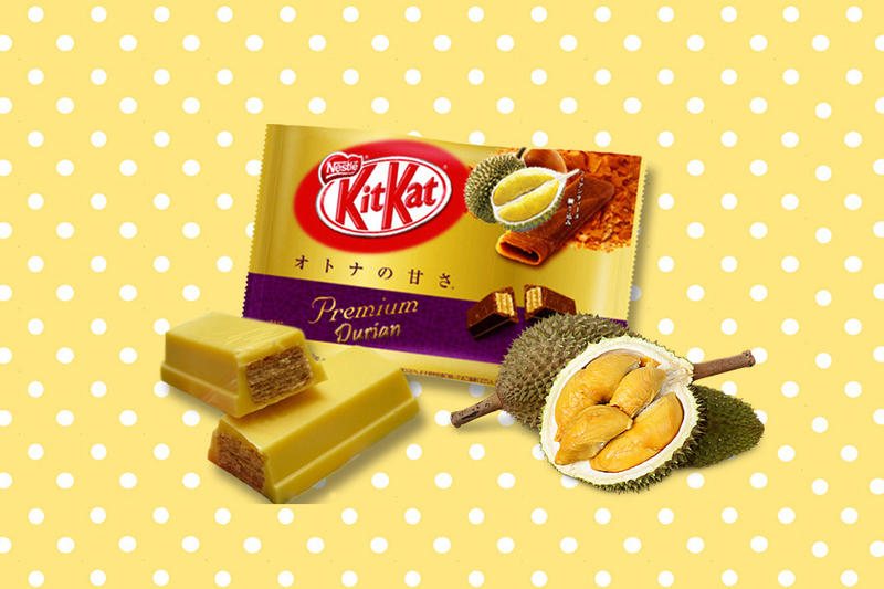 Kit Kat Thailand Durian Mangosteen Tamarind Flavor