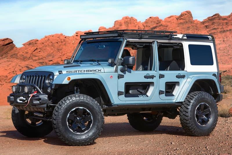 Easter Jeep Safari 2017 Grand Cherokee Quicksand Switchback Luminator