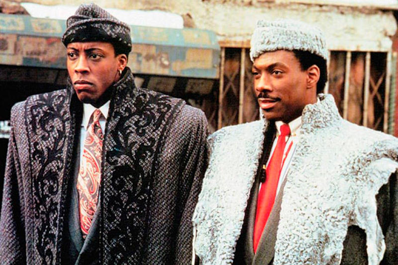 Eddie Murphy 'Coming to America' Sequel Movies Films Twitter Arsenio Hall