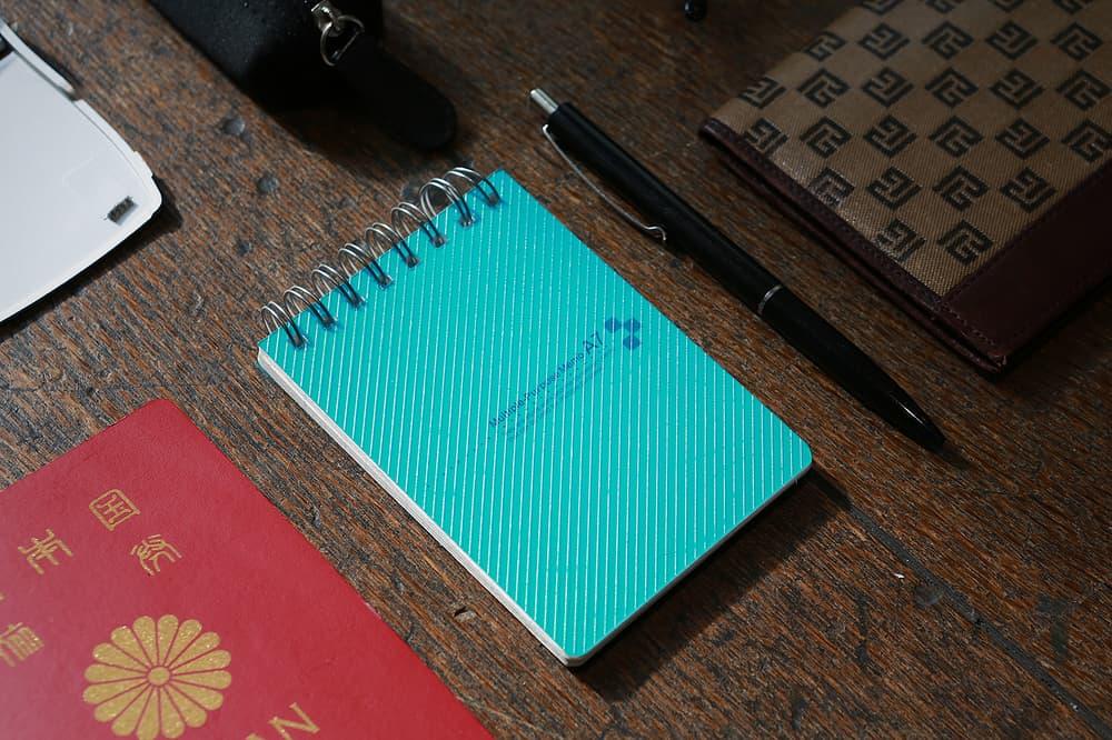 notebook g-shock kikuo ibe