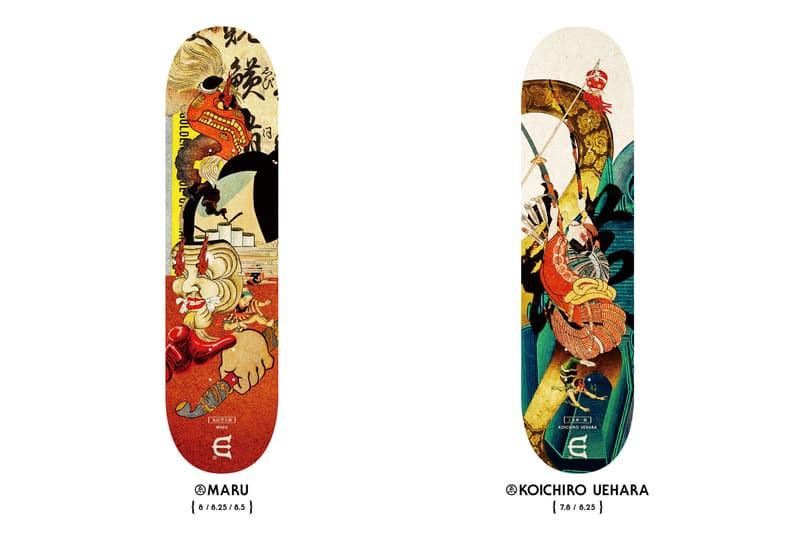 Evisen Skateboards Essence Board Series Japanese Designs