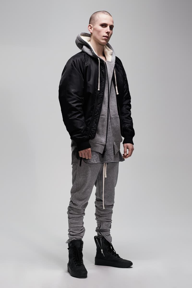 F.O.G. Essentials PacSun 2017 Spring Summer Hoodie Joggers Grey Jacket Black
