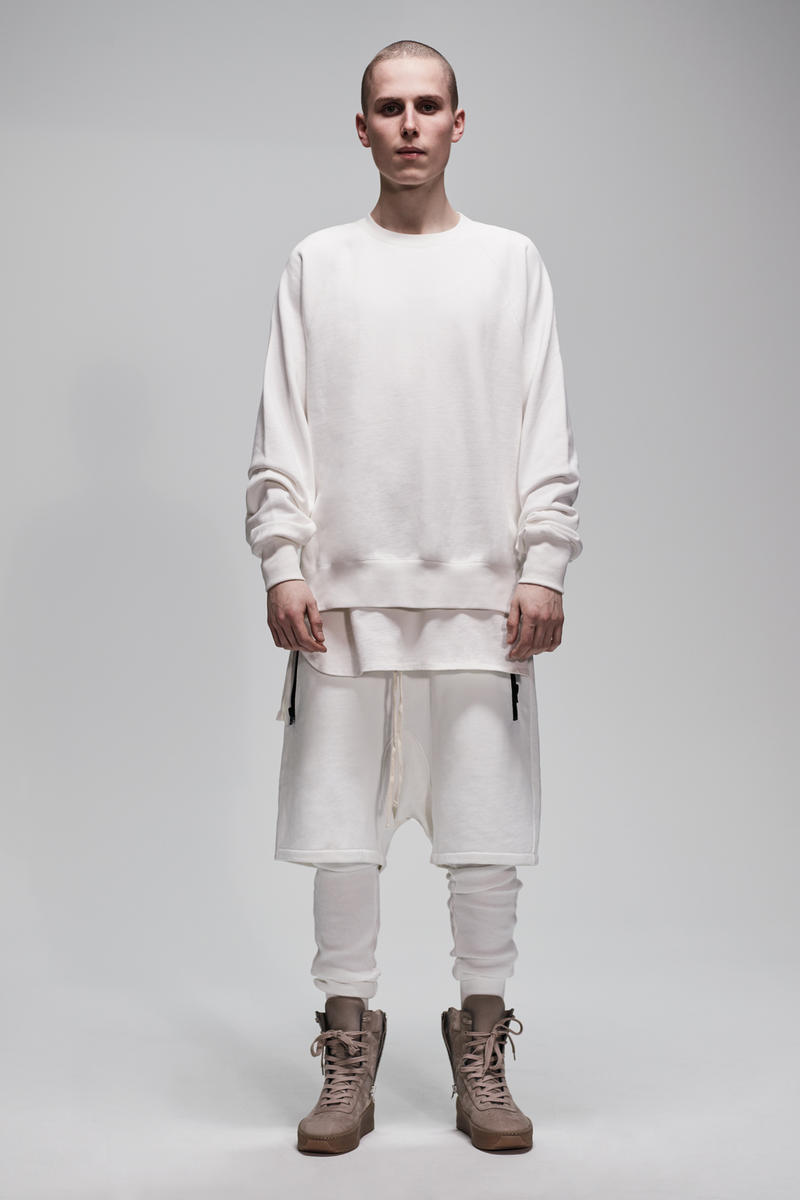 F.O.G. Essentials PacSun 2017 Spring Summer Crewneck Shirt Shorts White