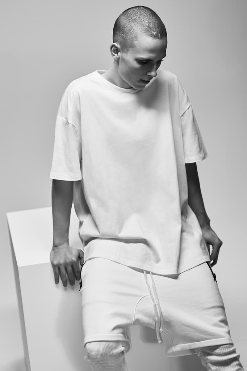 F.O.G. Essentials PacSun 2017 Spring Summer Short Sleeve Shirt Joggers White