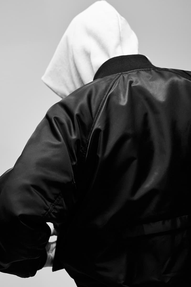 F.O.G. Essentials PacSun 2017 Spring Summer Hoodie White Jacket Black Back