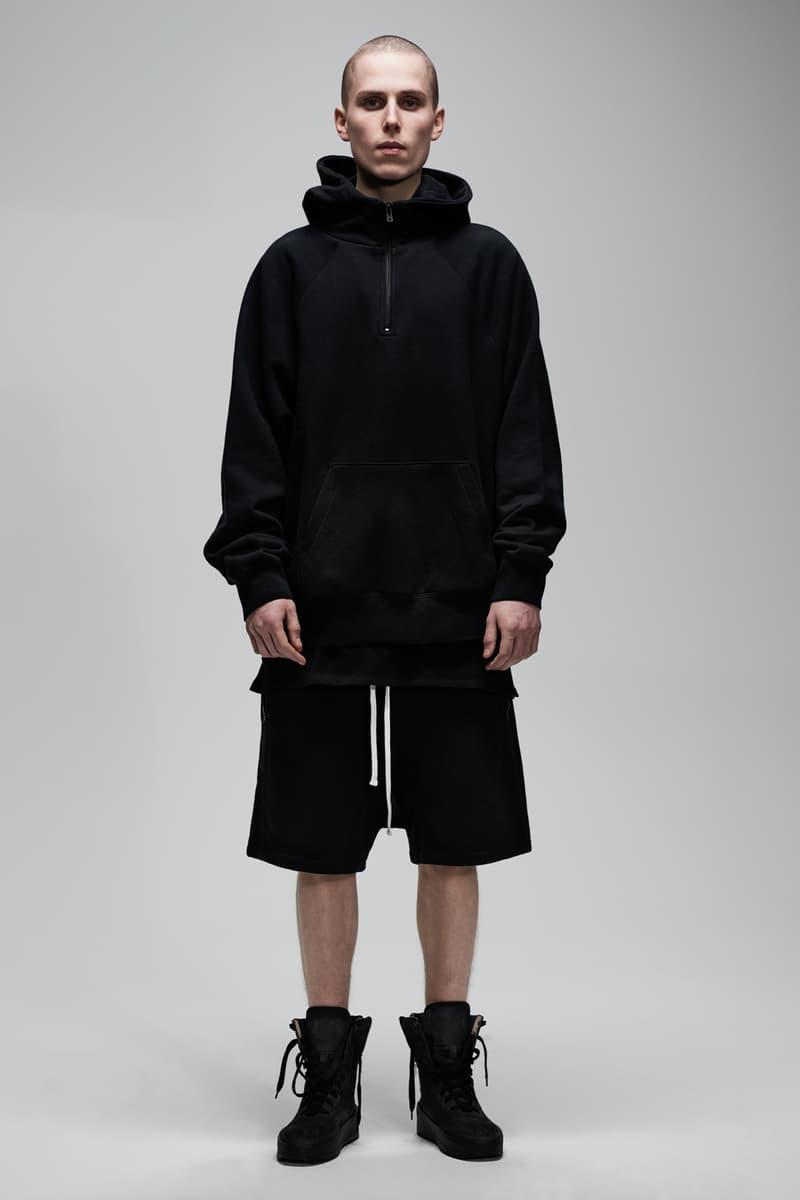 F.O.G. Essentials PacSun 2017 Spring Summer Hoodie Shorts Black