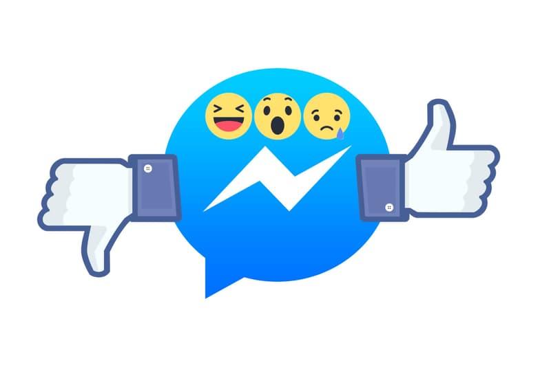 facebook dislike button messenger