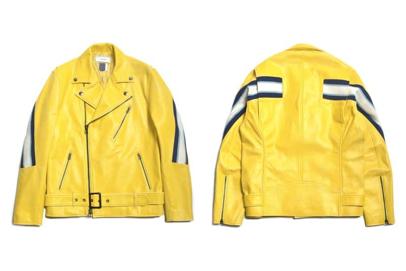 FACETASM Spring/Summer 2017 Ribbed Leather Jacket