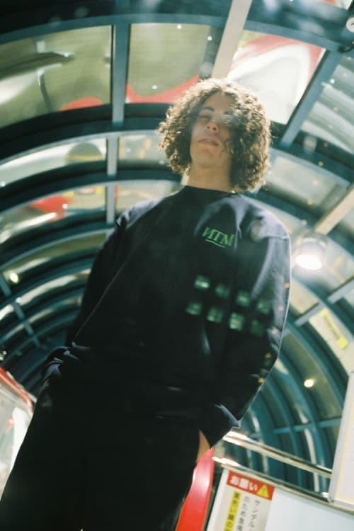 Fathom X Diaspora Skateboards Black Sweatshirt
