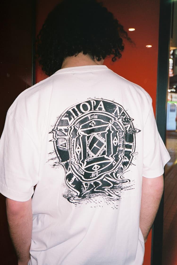 Fathom X Diaspora Skateboards White T-Shirt Back