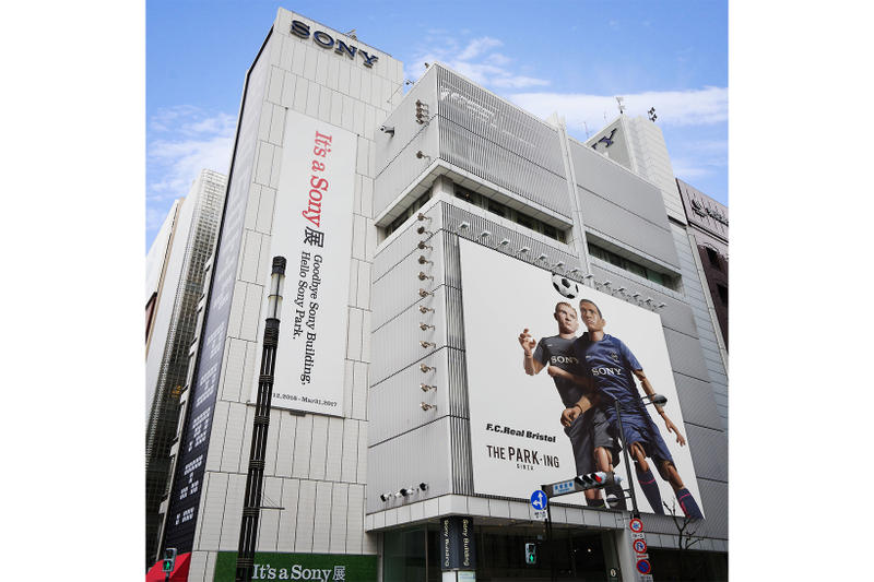 FCRB Sony THE PARKING GINZA Collaboration Tease