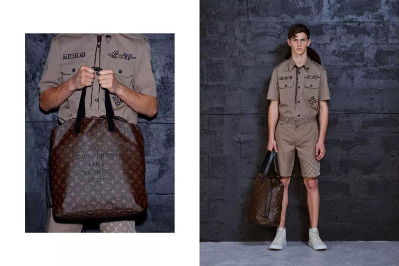 fragment design Louis Vuitton Collaboration Lookbook