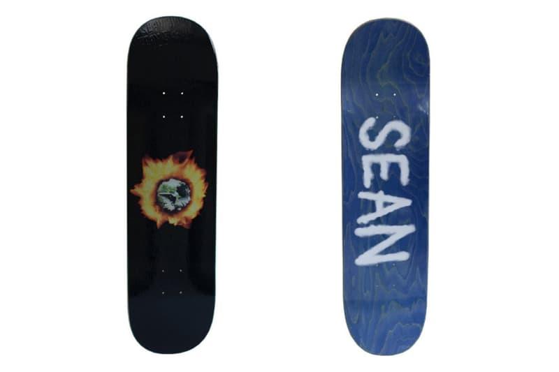 Sean Pablo Fucking Awesome Angel Burn Skate Deck Skateboard