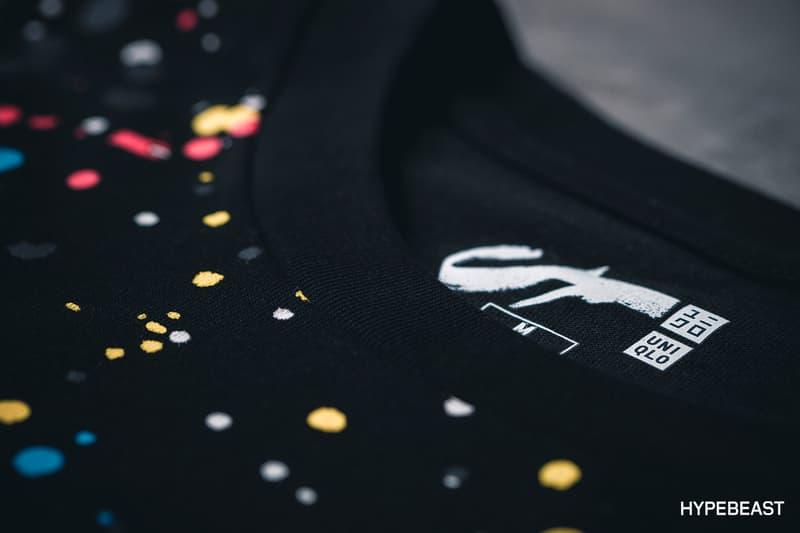 Futura x Uniqlo Collection 2017 Spring Summer T-shirts Graffiti