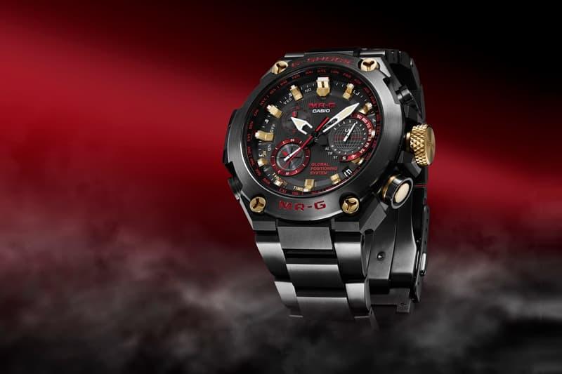 G-SHOCK Unveils New Luxury MR-G in Akazonae Red