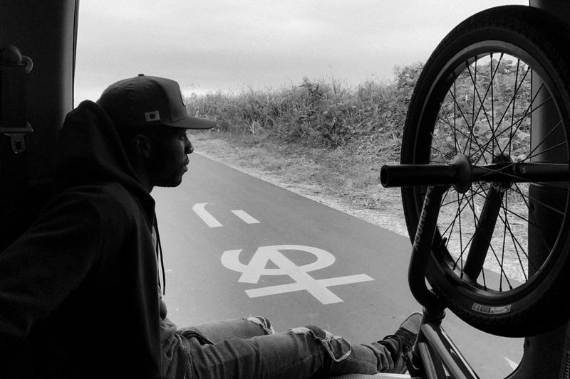 GO! Nigel Sylvester UNITED ARROWS & SONS Only Bicycles Can Go Collection