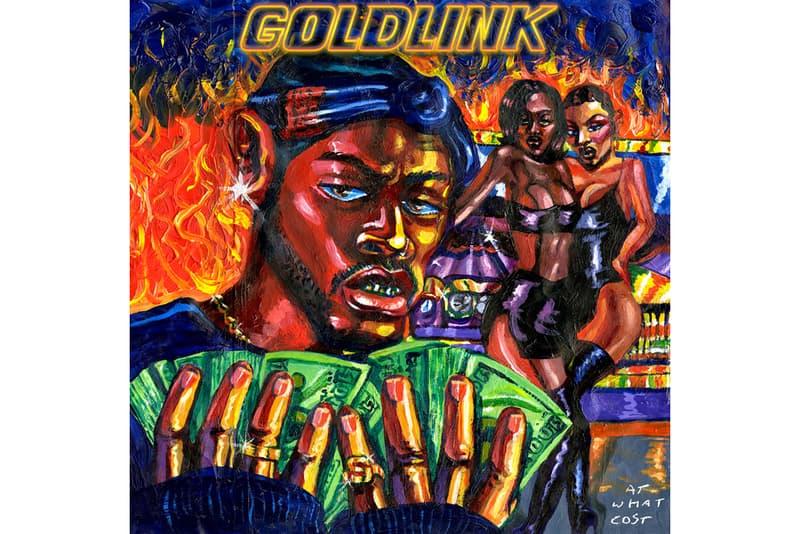 goldlink at what cost album stream kaytranada wale the internet steve lacy shy glizzy