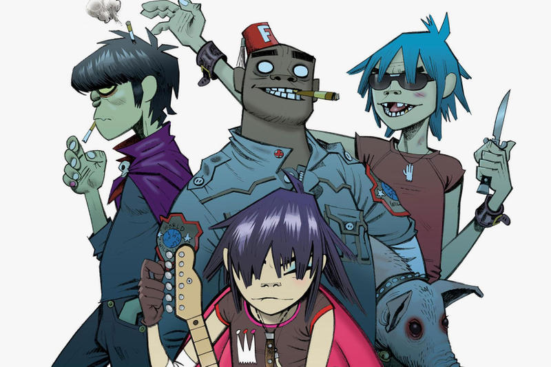 Gorillaz's New Song Releases Tomorrow   HYPEBEAST