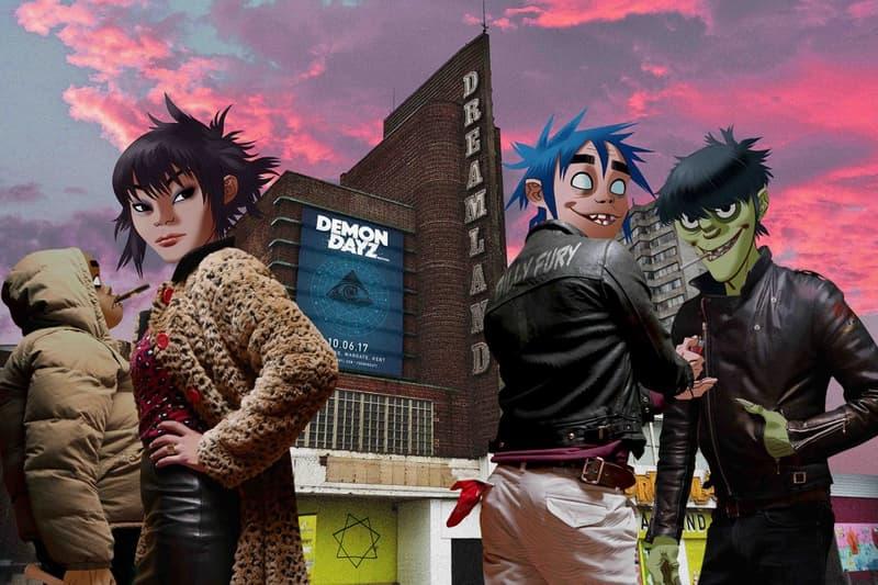 Gorillaz Live Show Return London Concert Noel Gallagher Danny Brown De La Soul Videos