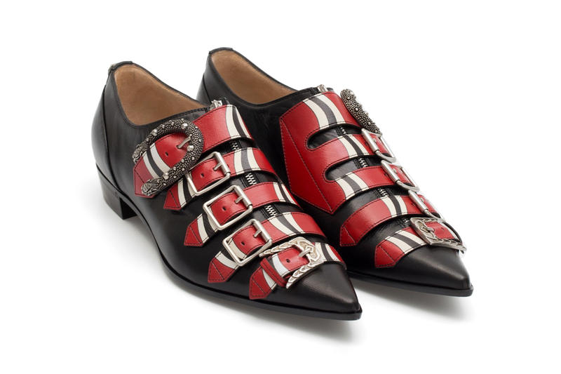 Gucci Baroque Buckle Shoes