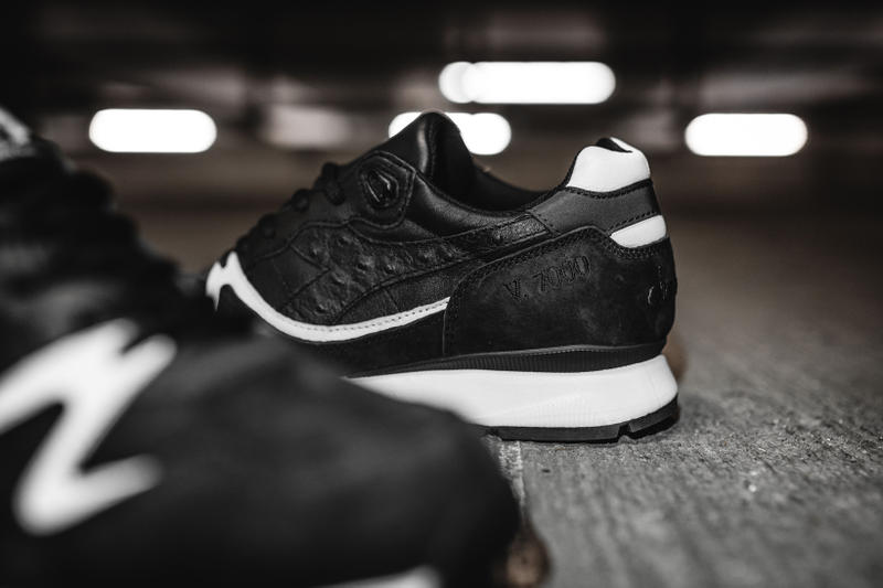 Hanon x Diadora V7000 Midnight Express Saturday Special Black