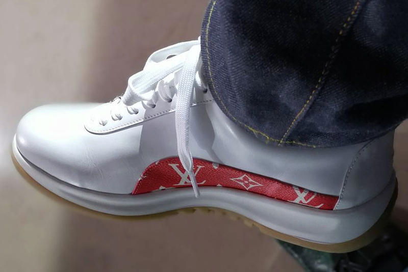 Supreme x Louis Vuitton Sneakers First Look