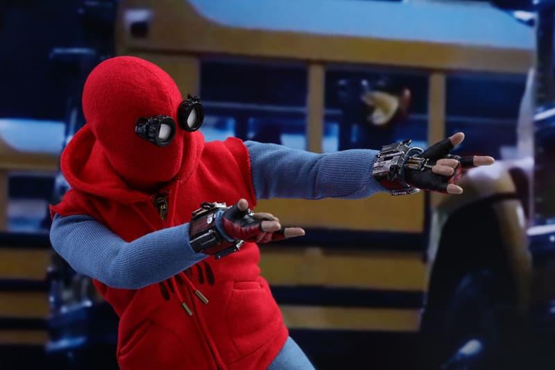 Spiderman: Homecoming Action Figure Shooting