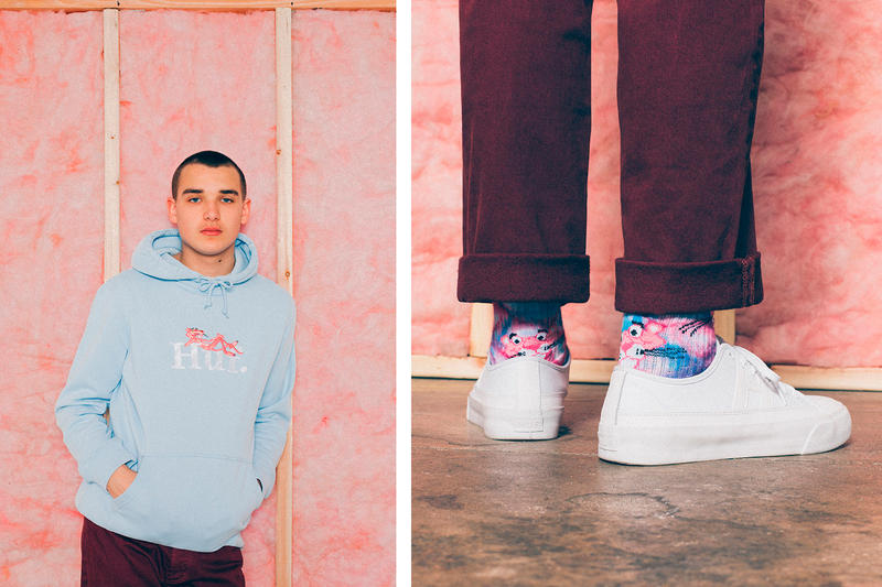 HUF Pink Panther 2017 Spring/Summer Collection San Fransisco T-Shirts Socks