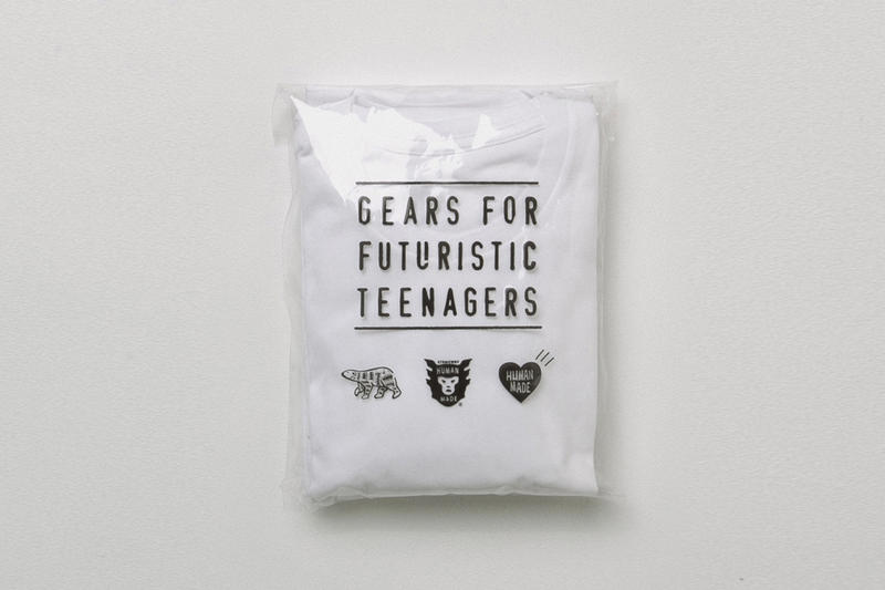 HUMAN MADE T-shirt Packs